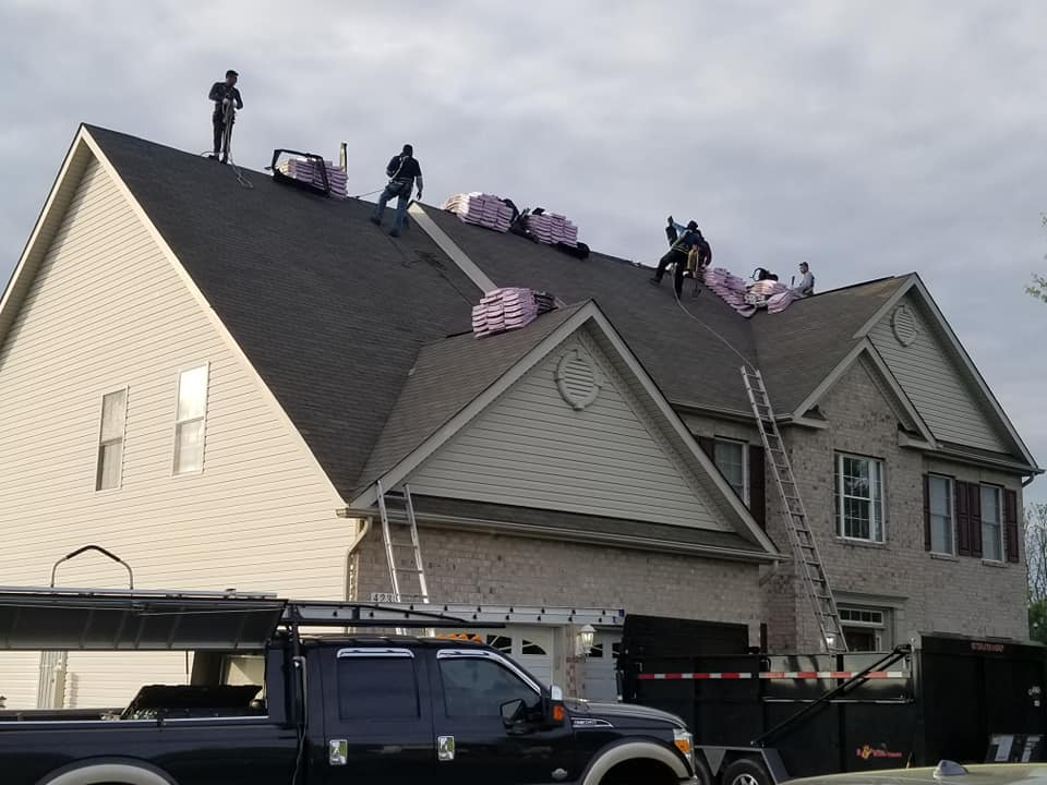 Columbia E&A Contracting Roof Replacement